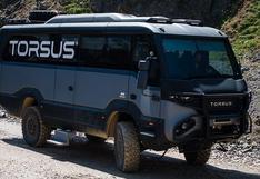 Torsus Praetorian: El primer bus todoterreno de la historia