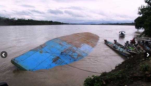 Ucayali: 10 desaparecidos por naufragio en el río Urubamba
