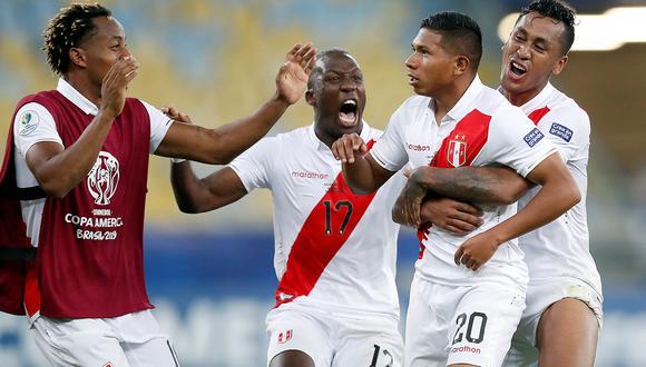 Perú consiguió su primera victoria en la Copa América 2019.   EFE