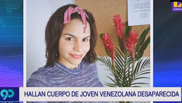 Lizmar Hernández Farías había desaparecido el pasado 30 de diciembre en San Borja. (Latina)