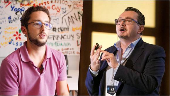 Mariano de Osma, CEO de la OMV peruana Cuy Móvil, y Antonio Milio, CEO de la tecnológica española Wings Mobile, unirán sus esfuerzos para expandir su presencia en nuestro país. (Fotos: YouTube/ Twitter)