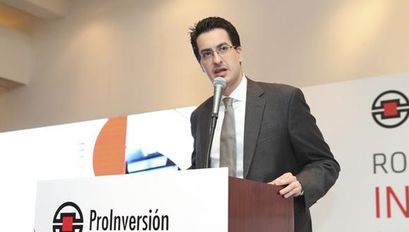 Según Peñaranda, ProInversión tiene como objetivo adjudicar US$10 mil millones al año.