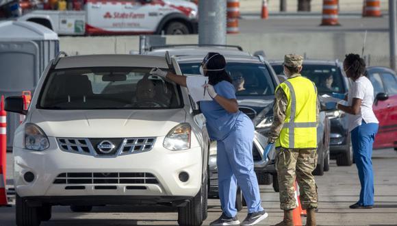 Miami es la ciudad con más infectados de coronavirus en Florida,Estados Unidos. (Foto: EFE)