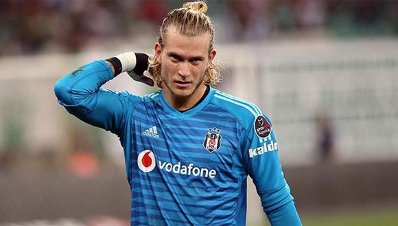 Los fallos ya se han vuelto habituales en Loris Karius. Ahora fue protagonista de un yerro en su primer partido como guardameta del Besiktas. (Foto: AP)