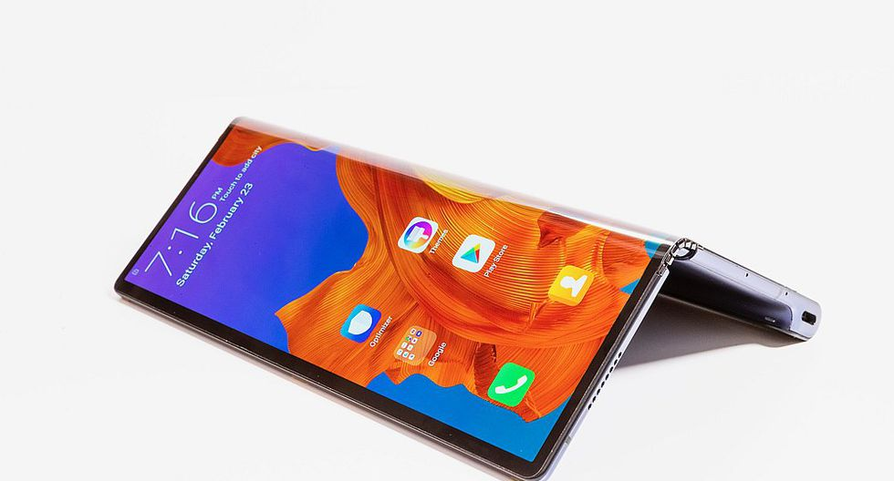 Huawei Mate X. (Foto: Archivo)