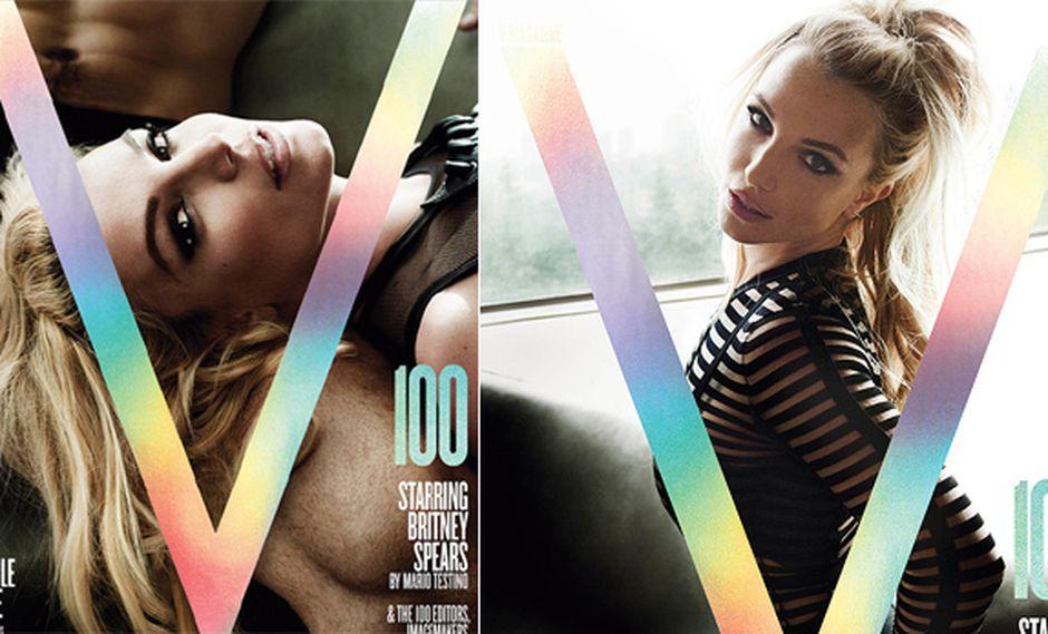 Mario Testino hizo estos sexys retratos de Britney Spears