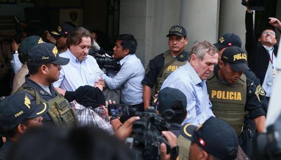 Representantes de la ex socias de Odebrecht —Graña y Montero, JJ Camet e ICCGSA— cumplen prisión preventiva por el caso de la carretera Interoceánica. (Foto: Andina)