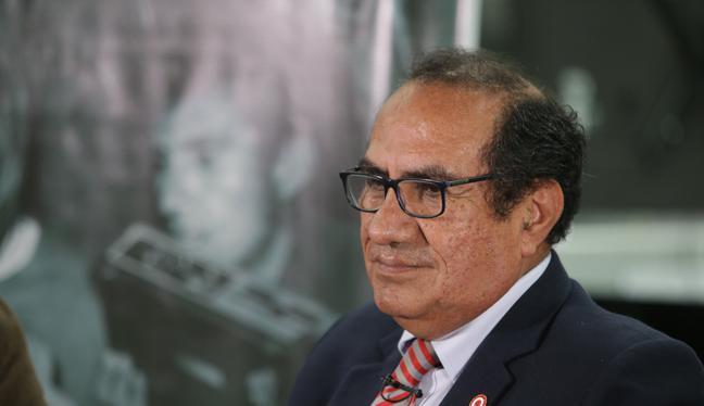 Óscar Vásquez fungió como asesor de Comunicaciones del presidente Martín Vizcarra. (Foto: Alonso Chero/ GEC)
