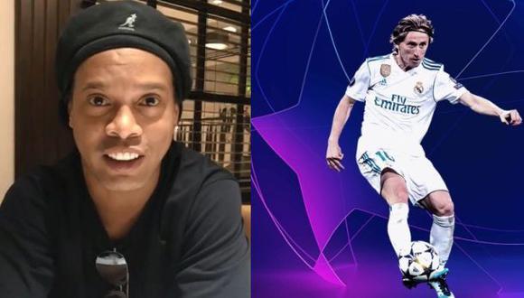 Ronaldinho le dio su 'bendición'. (Foto: Instagram)