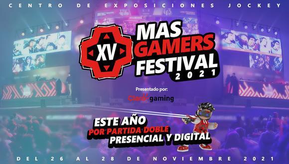 MasGamers festival 2021 es uno de los mejores festivales  de videojuegos en Perú. (Foto: difusión)