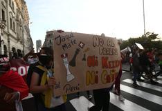 Elecciones 2021: marcha en Lima a favor del voto nulo o blanco en la segunda vuelta | FOTOS