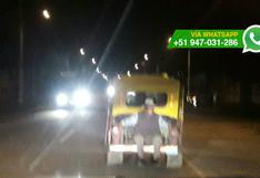 Cusco: usuarios captan riesgosos viajes en mototaxis