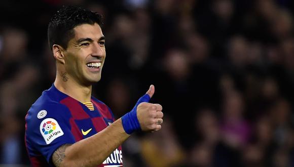 Luis Suárez está en los planes de Ajax, indican desde Uruguay. (Foto: AFP)