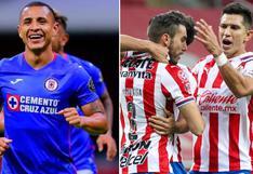 Chivas vs. Cruz Azul en vivo: horarios y canales para ver el partido por la Liga MX
