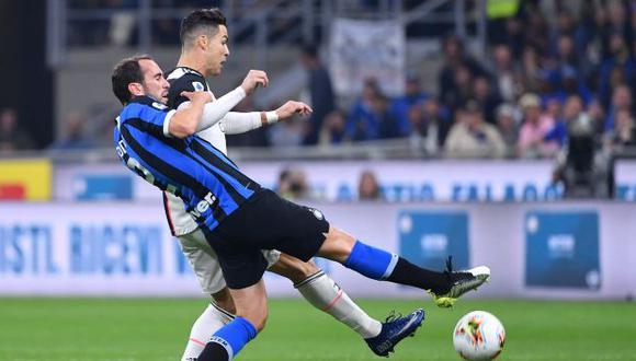 Juventus e Inter de Milán se verán las caras recién el 13 de mayo. (Foto: AFP)