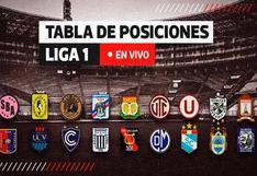 Tabla de posiciones de la Liga 1 en vivo, así va la tabla tras la goleada de Sporting Cristal