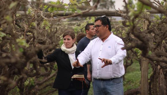 La especialista que instaló vinos del Nuevo Mundo en la carta de la triestrellada chef francesa Anne-Sophie Pic estuvo en Lima (Foto: Paulo Rivas)