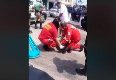 SMP: accidente de tránsito deja dos policías heridas   VIDEO