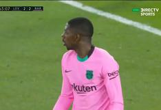 Barcelona vs. Levante: Ousmane Dembélé marcó el 3-2 azulgrana | VIDEO