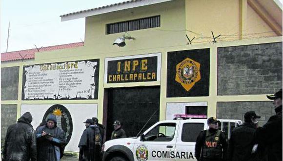 La violencia en Challapalca empezó el miércoles a las 5:30 p.m. Aquel día fue asesinado Julio Becerra Espejo. Los reos piden que se los traslade a otros penales (Foto: USI)