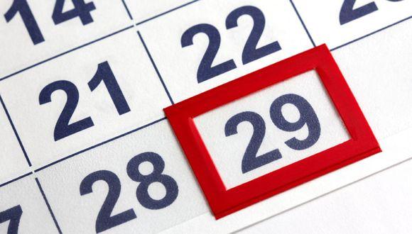 Cada cuatro años se añade el día 29 de febrero, como en este 2020 que es año bisiesto (Foto: Pixabay)