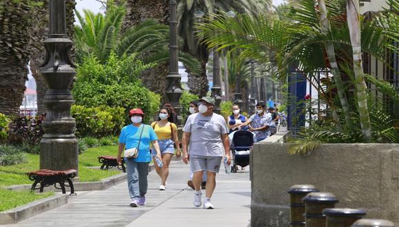 En Lima Oeste, la temperatura máxima llegaría a 25°C, mientras que la mínima sería de 20°C.  (Foto: Jessica Vicente / @photo.gec)