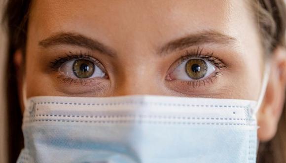 La transmisión del SARS-CoV-2 a través de la superficie ocular y la lágrima es factible. (GETTY IMAGES)