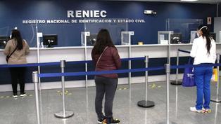 Lima y Callao: Reniec entregará DNI los sábados sin previa cita
