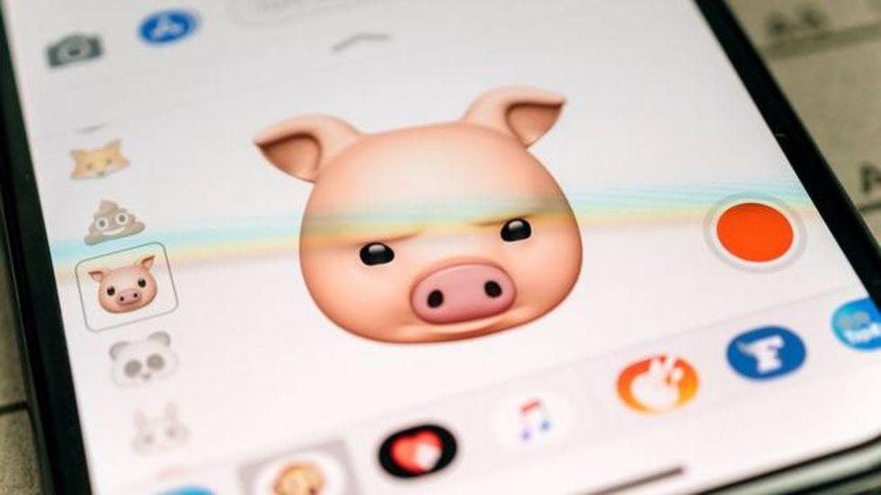 """Los """"animojis"""" fueron una de las grandes novedades del iPhone X de Apple. (Foto: Getty)"""
