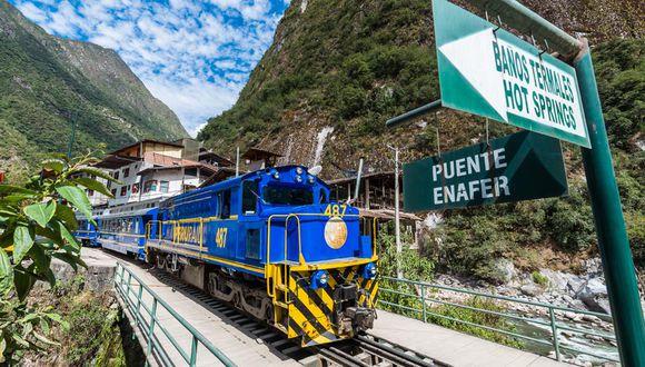 Cusco: los ambientes del tren, como pasamanos, pestillos, pisos y asientos, se desinfectarán con hipoclorito de sodio.