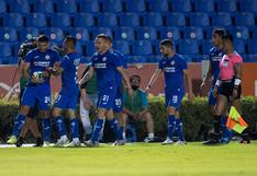 Cruz Azul venció 3-1 a Tigres por la ida de los cuartos de final del Apertura 2020 de la Liga MX