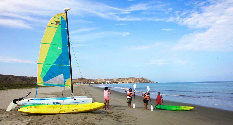 El viento en el norte es perfecto para practicar kitesurf y windsurf. Foto: Denisse Sotomayor