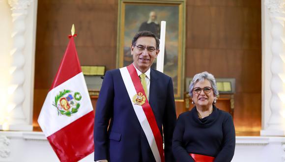 Sonia Guillén asumió el cargo de ministra de Cultura en diciembre del 2019. (Foto: Presidencia)