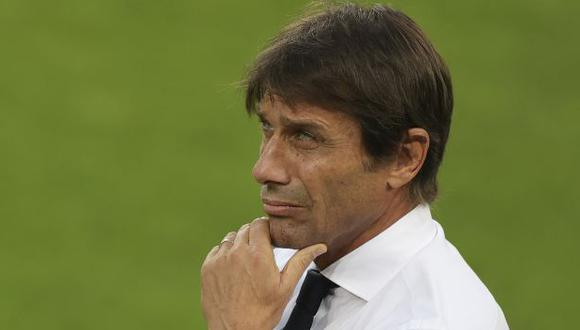 Antonio Conte analizó la previa del derbi de la Coppa Italia. (Foto: AFP)