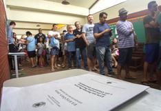 Electores brasileños castigan a la mayoría de candidatos salpicados por corrupción