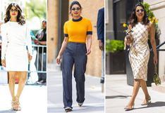 Radiografía fashion: el estilo de Priyanka Chopra   FOTOS