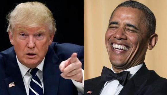 """Donald Trump sobre Barack Obama: """"Nos dirige gente estúpida"""""""
