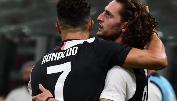 Rabiot llegó a Juventus en julio de 2019. (Foto: AFP)