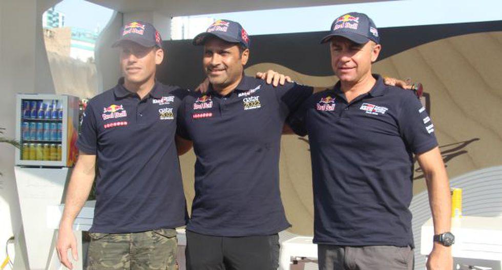 Nasser Al-Attiyah ganó el Dakar en el 2011 y 2015, Giniel De Villiers lo hizo en el 2009. (Foto: Ricardo Vilchez)