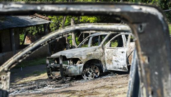 Este ataque contra militares tuvo lugar un día después de que 14 agentes murieron durante un ataque armado registrado en el municipio de Aguililla, en el occidental estado de Michoacán, limítrofe con Guerrero. (AFP)