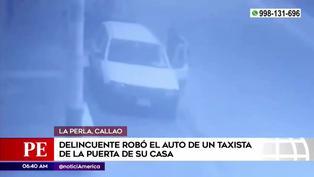 Callao: Delincuentes roban vehículo