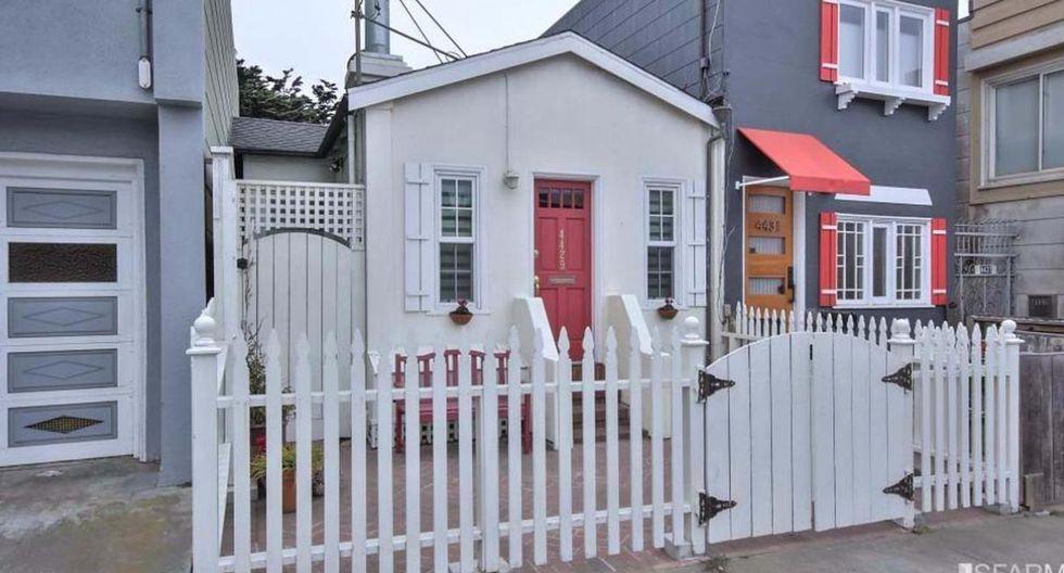 La casa de 53 m2 se encuentra en Kirkham Street, San Francisco. Luce una decoración llena de alegría y color. (Foto: redfin.com)
