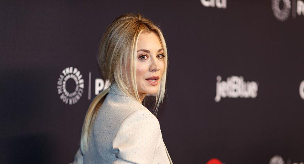 Kaley Cuoco se 'ahoga en lágrimas' ante la última temporada de The Big Bang Theory | Foto: AFP
