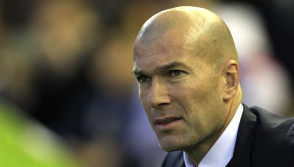 """Zinedine Zidane: """"La palabra crisis no existe en el fútbol"""""""