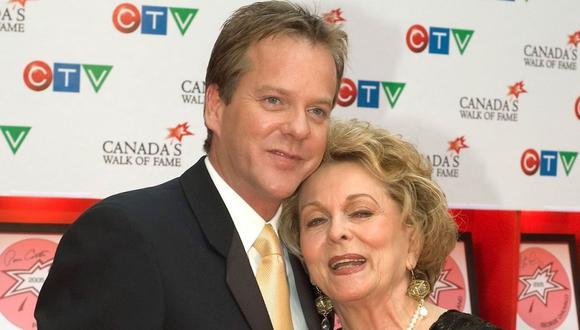 Shirley Douglas, madre del actor Kiefer Sutherland, falleció a los 86 años. (Foto: EFE)