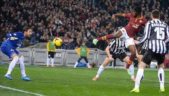 Roma venció 1-0 a Juventus y lo eliminó de la Copa Italia