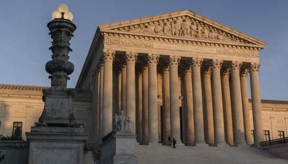 Se ve el edificio de la Corte Suprema en Washington. (Foto: AP/J. Scott Applewhite)