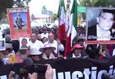 Poeta Javier Sicilia y mormones inician marcha para exigir la paz en México