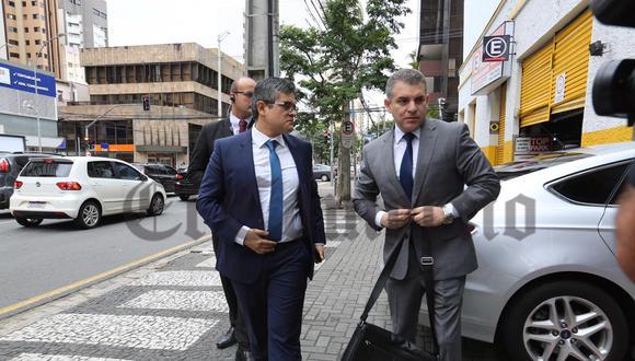 Los fiscales peruanos José Domingo Pérez y Rafael Vela Barba encabezarán las diligencias de este lunes. Foto: El Comercio