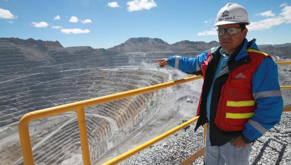 La minera evacuó a sus trabajadores en riesgo de contraer coronavirus. (Foto: Andina)